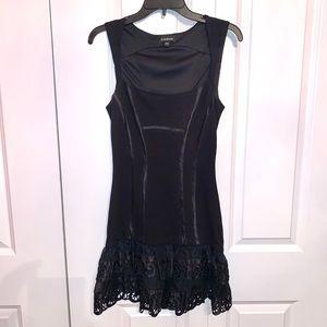 Bebe Black sleeveless dress